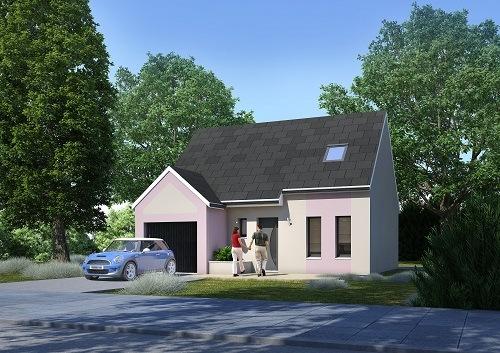 Construction d'une maison à Frénouville 14630 pour 176 600 €