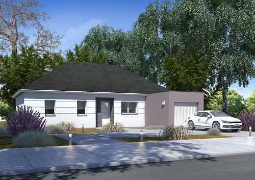 Maison + terrain à FONTENAY-TRESIGNY 77610 dans la SEINE-ET-MARNE