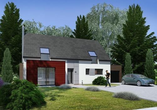 Maison + terrain à MAGNANVILLE (78200) dans les YVELINES