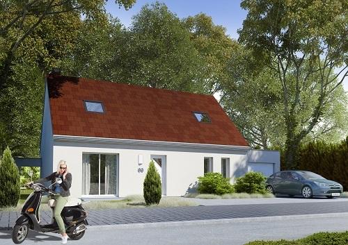 Maison + terrain à MELUN (77000) dans la SEINE-ET-MARNE