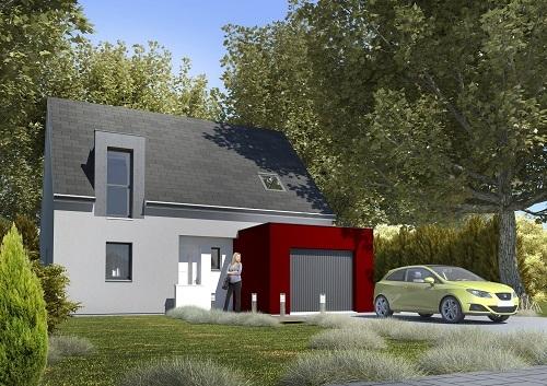 Maison + terrain à COUBERT 77170 dans la SEINE-ET-MARNE
