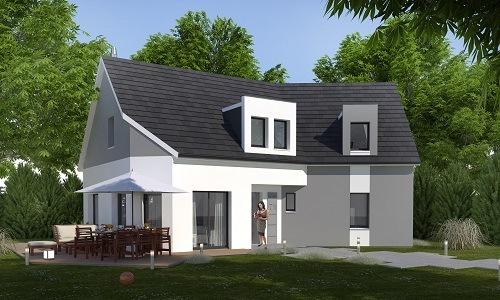 Offre maison et terrain DAMMARTIN-EN-GOELE 77230 dans la SEINE-ET-MARNE
