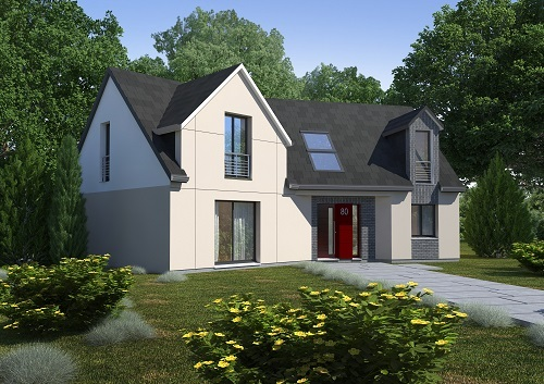 Construction d'une maison Saint-Pierre-en-Val (76260) 232 135 €