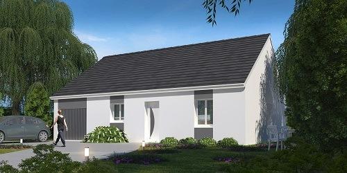 Maison + terrain à RAMBOUILLET 78120 dans les YVELINES