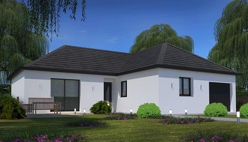 Maison + terrain à BETON-BAZOCHES 77320 dans la SEINE-ET-MARNE