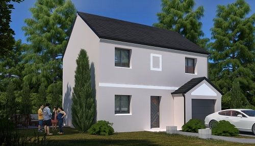 Maison + terrain à CHEVRY-COSSIGNY (77173) dans la SEINE-ET-MARNE