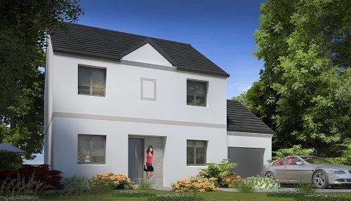 Maison + terrain à MOISENAY 77950 dans la SEINE-ET-MARNE