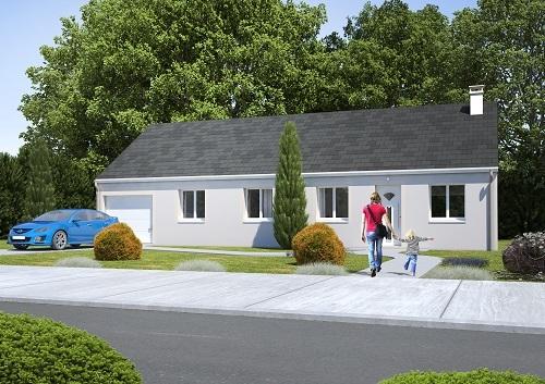 Maison + terrain à MOISSY-CRAMAYEL 77550 dans la SEINE-ET-MARNE