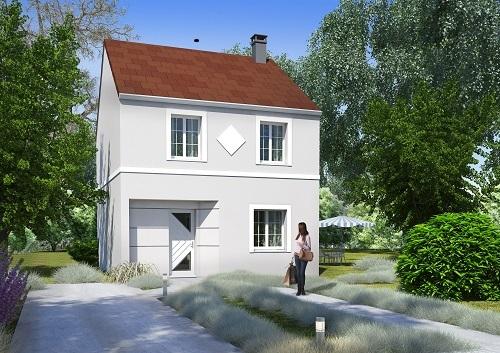 Maison + terrain à Champagne-sur-Seine 77430 dans la SEINE-ET-MARNE