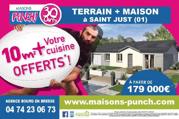 Maison + Terrain Bourg en Bresse