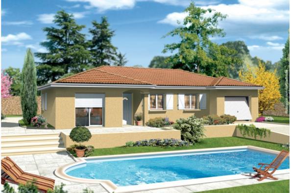 Maison MILONGA EN L - Villieu-Loyes-Mollon (01800)