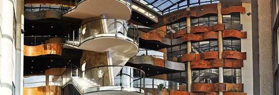 Intérieur de notre immeuble Ravel