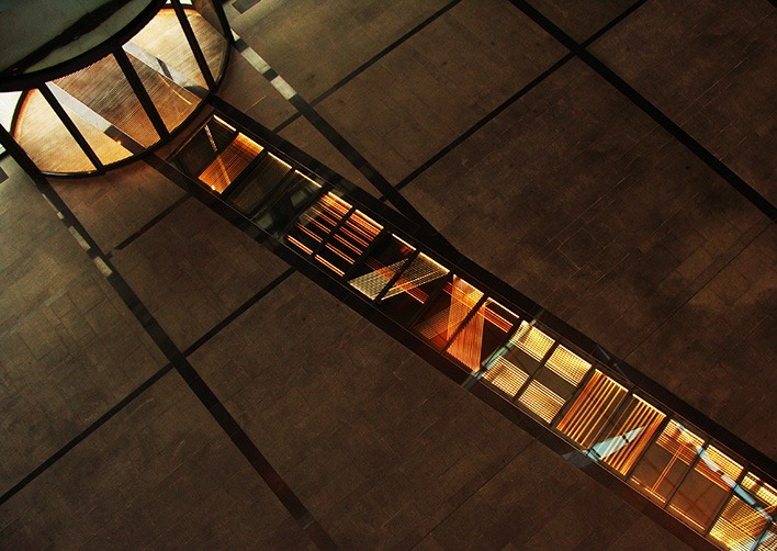 Chemin de lumière par Atelier LAPS - immeuble Panoramic