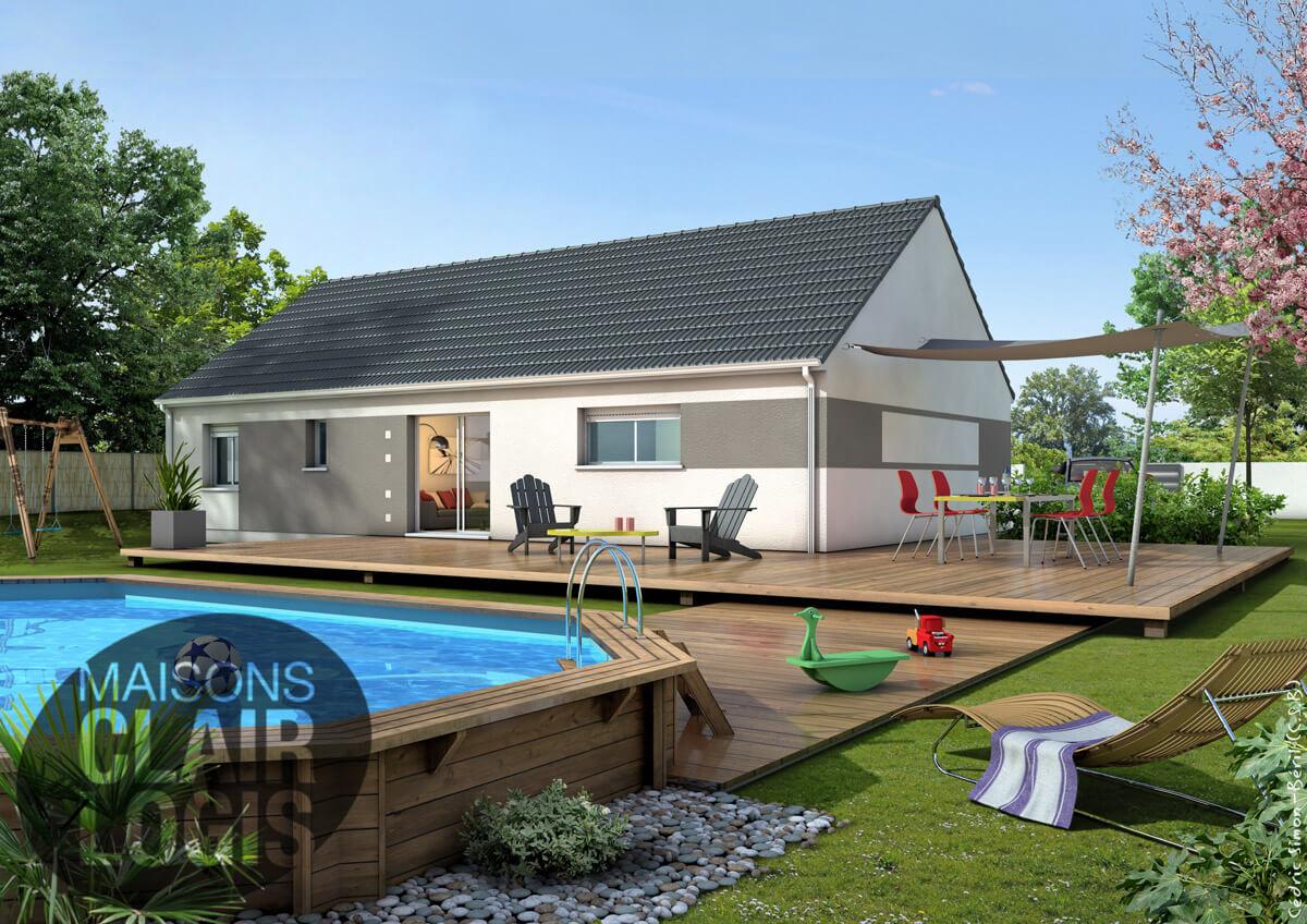 Recherche maison neuve ou maison individuelle 03100 for Prix maison individuelle 100m2