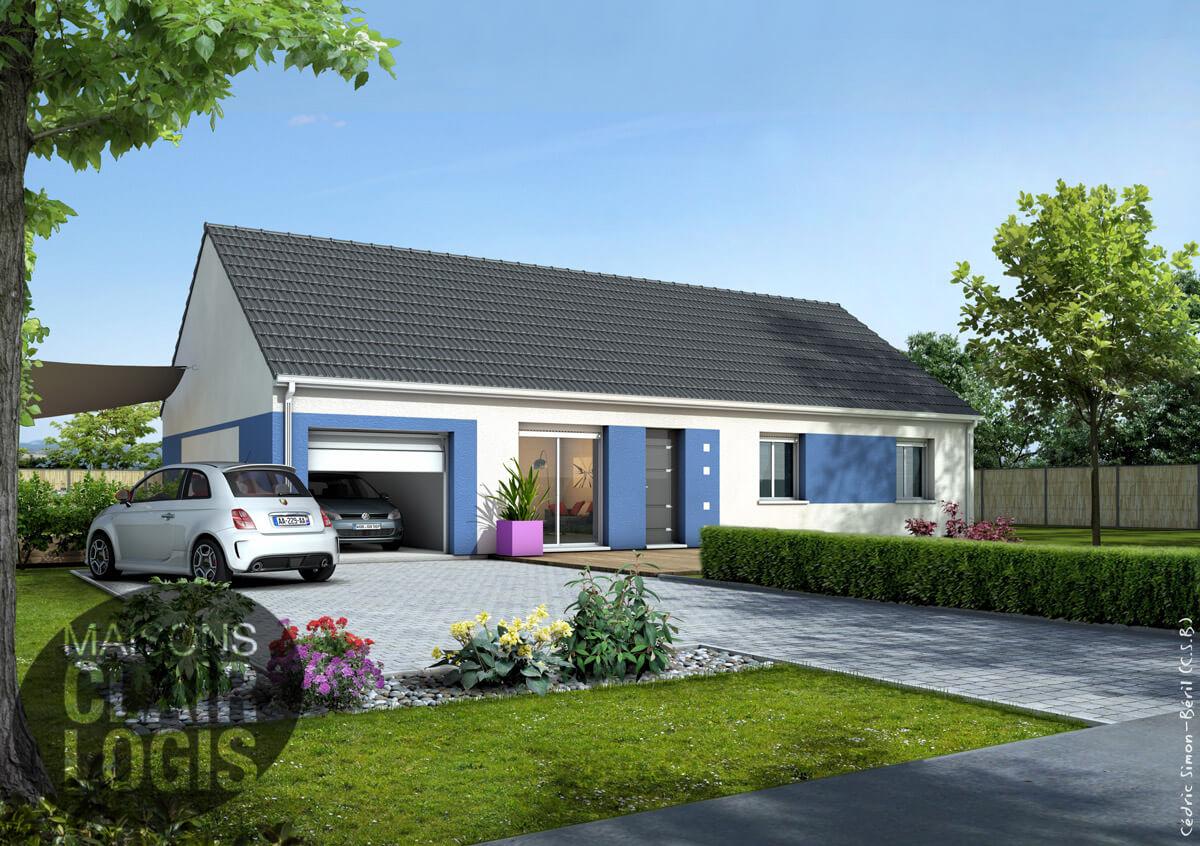 Recherche maison neuve ou maison individuelle 45 loiret for Prix maison plain pied 100m2