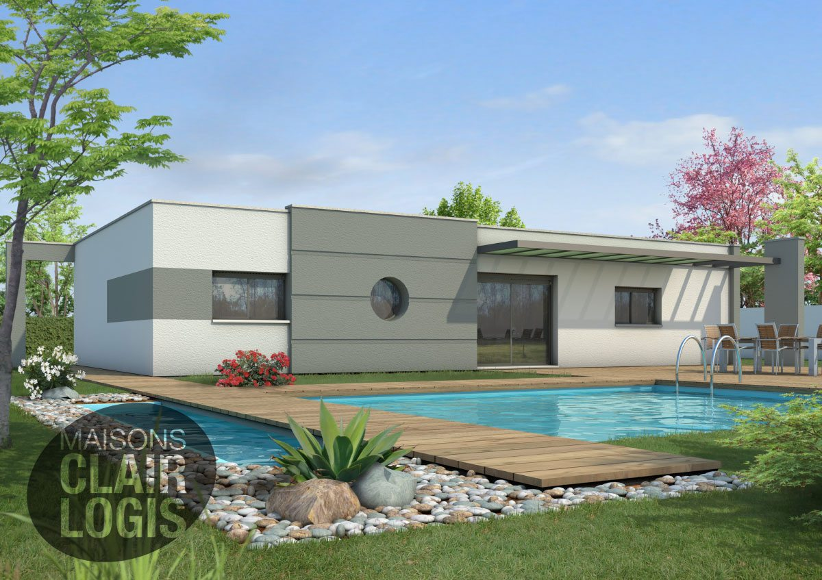 Recherche maison neuve ou maison individuelle 34400 lunel for Maison clair logis prix