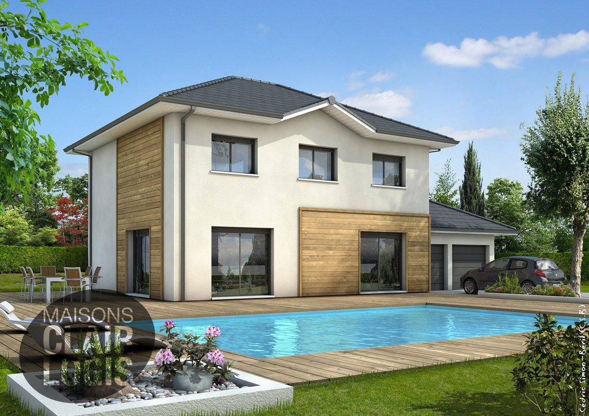 Recherche maison neuve ou maison individuelle 01600 for Maison a etage moderne