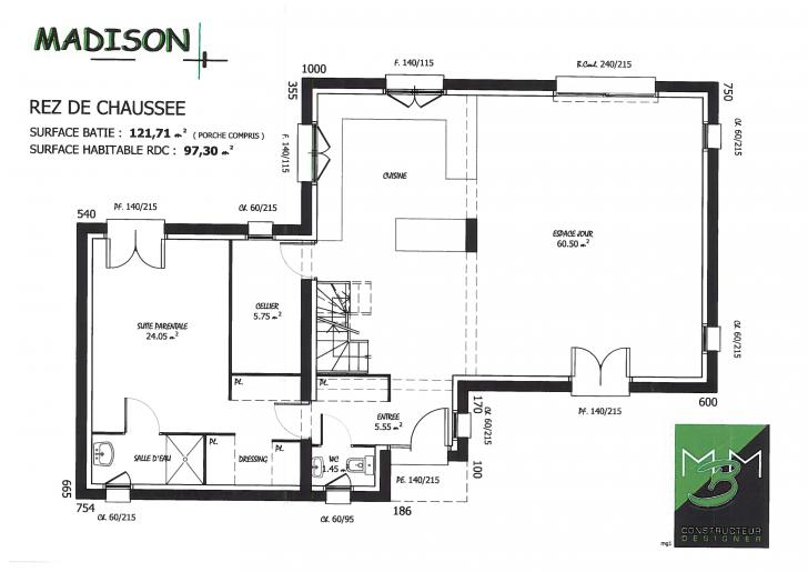 PLAN MADISON RDC