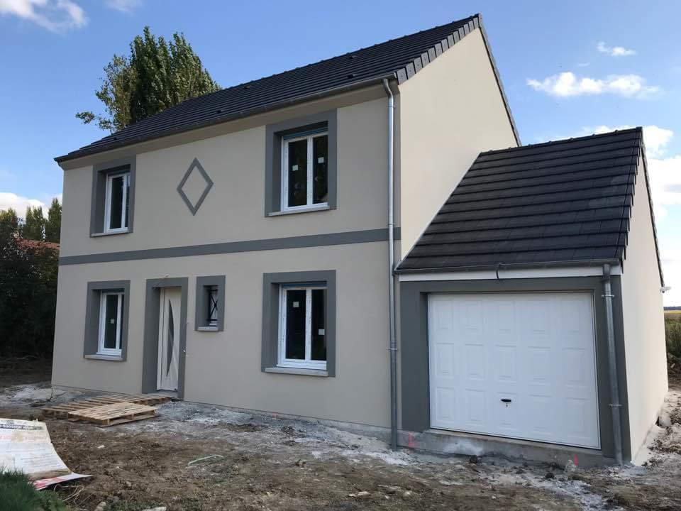 Maison + terrain à NANTEUIL-LES-MEAUX (77100) dans la SEINE-ET-MARNE