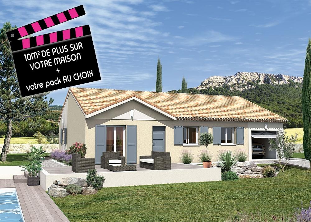 Annonce vente maison saint paulet de caisson 30130 80 for Maison caisson