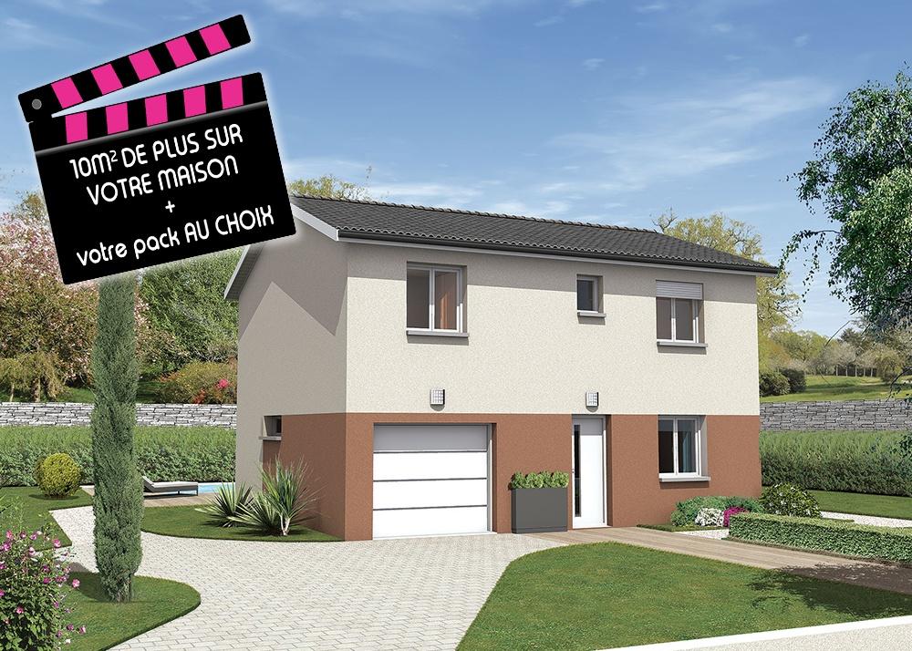 Recherche maison neuve ou maison individuelle 01500 for Prix maison neuve 90m2