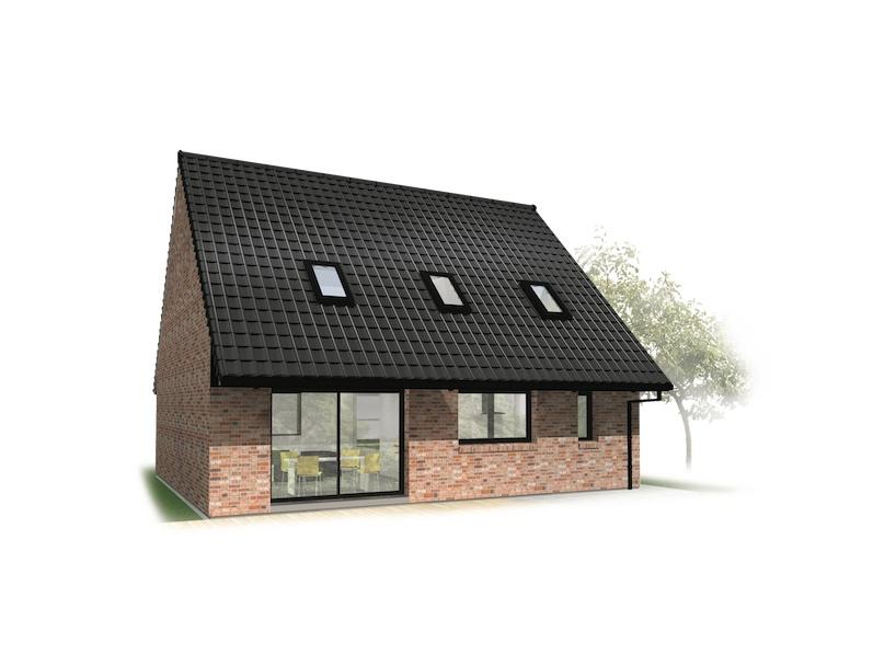 Terrain et maison à construire Comines 108m²