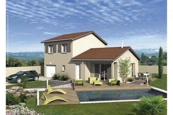 Maison CALYPSO - Montagnieu (38110)