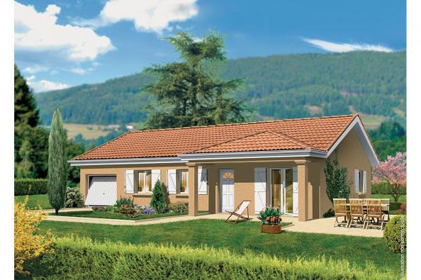Maison LAMBADA - Uchizy (71700)
