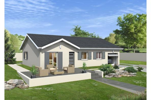 Maison MACARENA - Diémoz (38790)