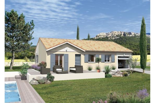 Maison MACARENA - VERSION PACA - Jonquerettes (84450)