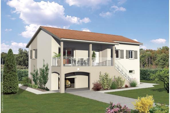 Maison MAMBO - Saint-Forgeux (69490)
