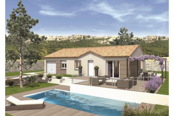 Maison MEZZO - VERSION PACA - Saint-Gervais (30200)