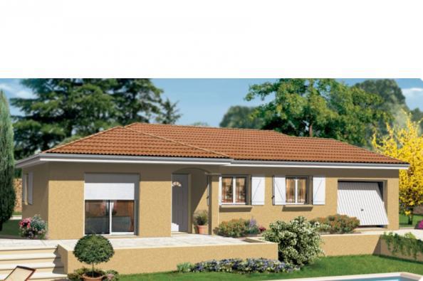 Maison MILONGA EN L - La Bâtie-Montgascon (38110)