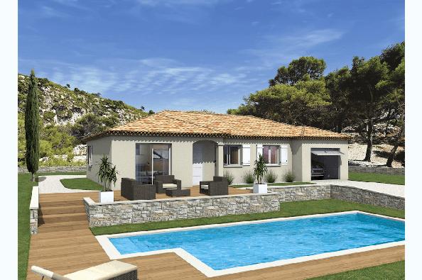 Maison MILONGA EN U - VERSION PACA - L'Isle-sur-la-Sorgue (84800)
