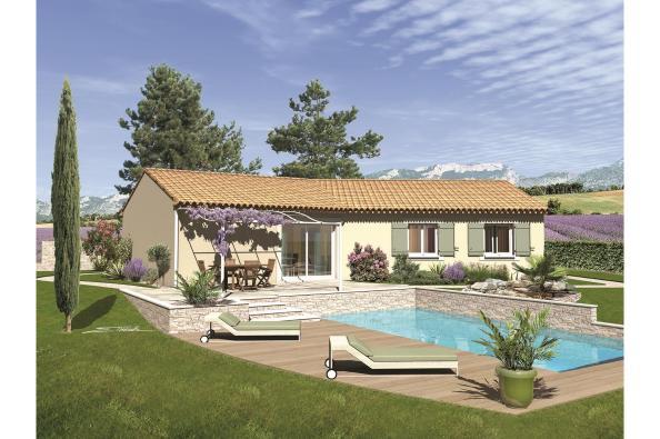 Plan de maison SAMBA - VERSION PACA
