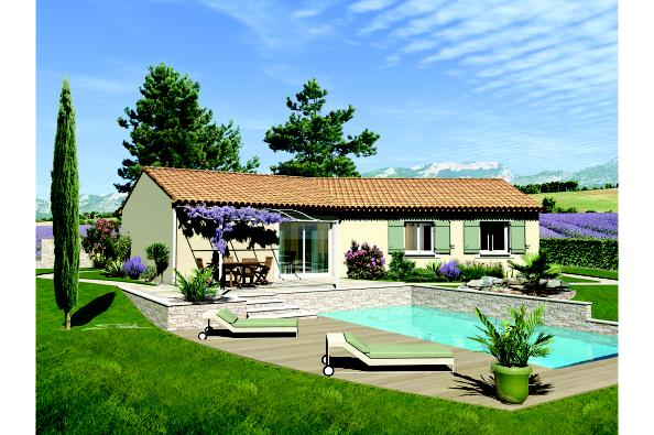 Maison SAMBA - VERSION PACA - Cabrières (30210)