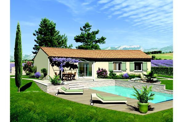 Maison SAMBA - VERSION PACA - Sauveterre (30150)