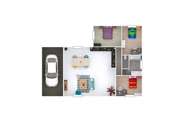 Maison SEGA - Parmilieu (38390)