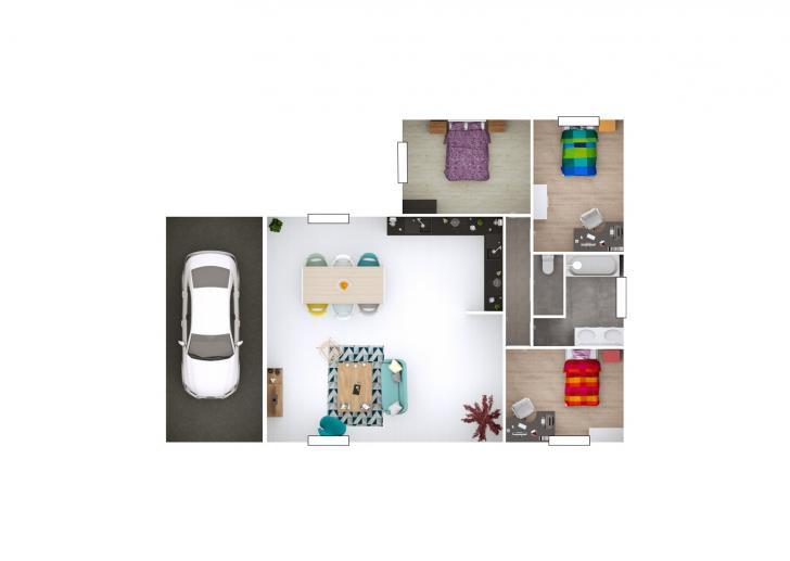 Plan de maison - SEGA