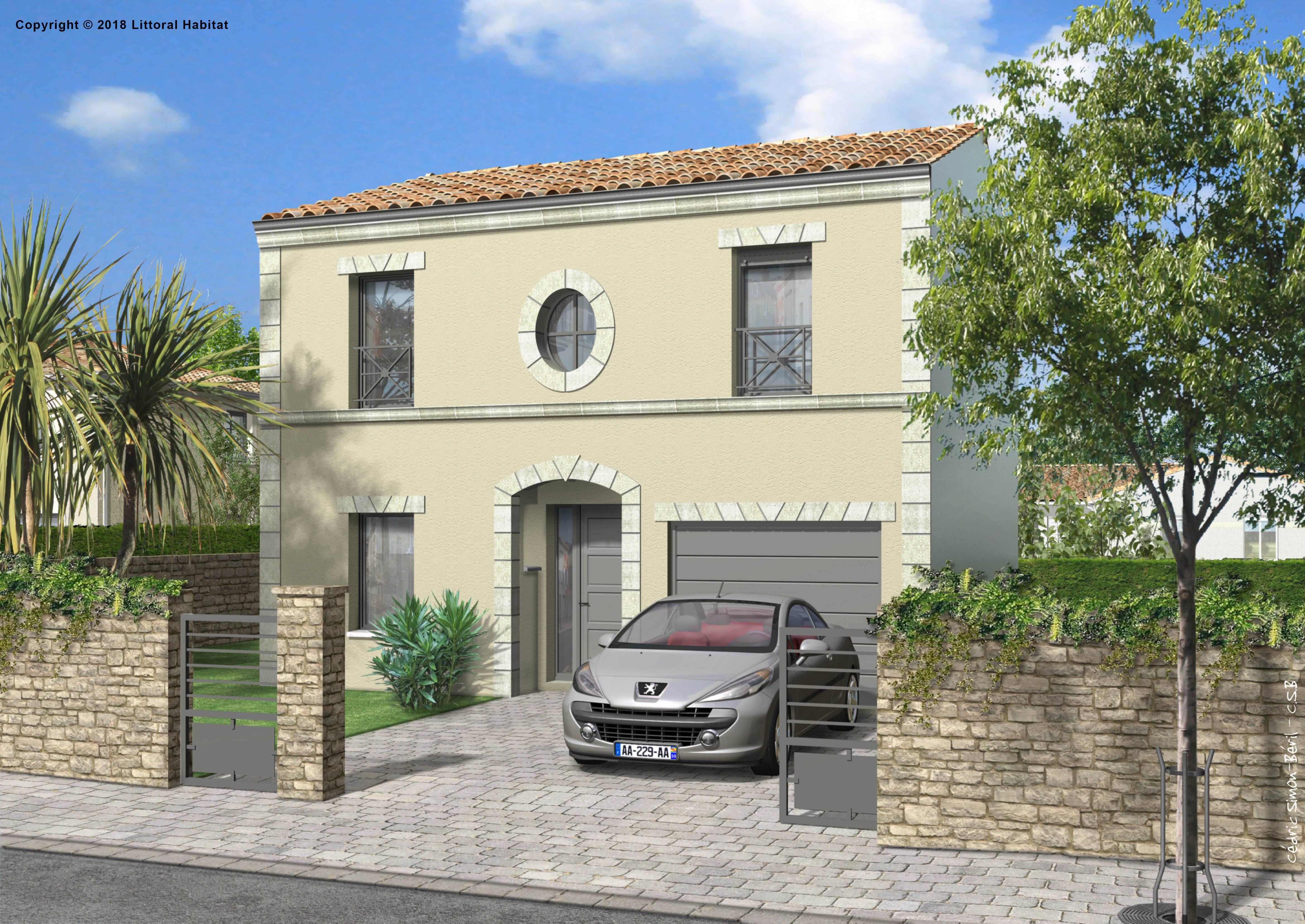 Maison neuve de 95 m2 à Libourne