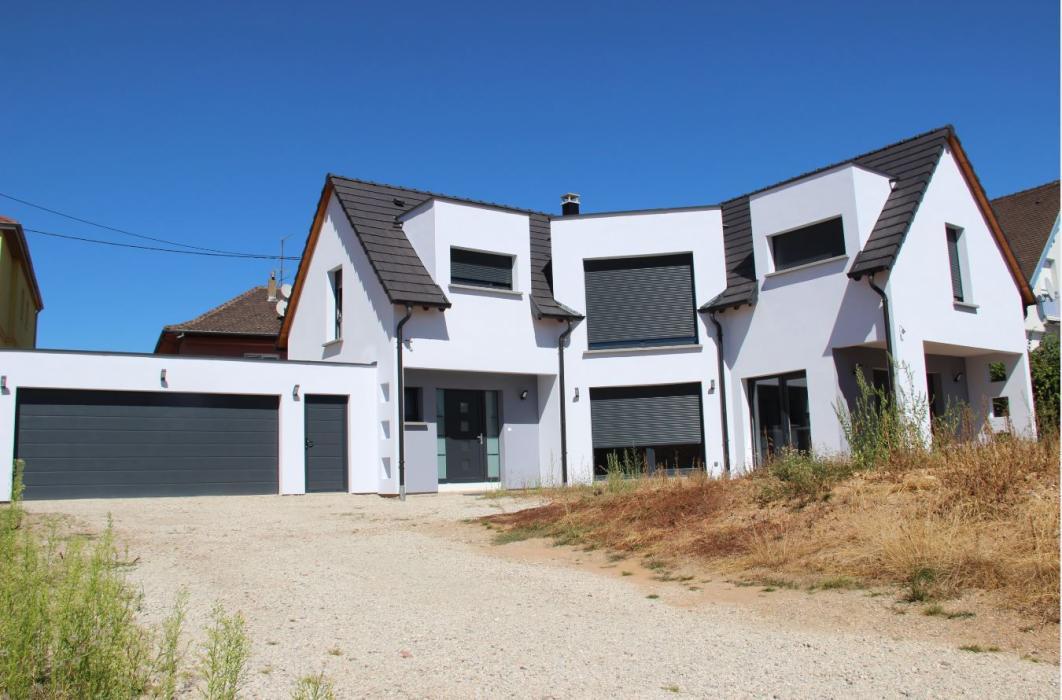 Réalisation d'une maison individuelle à Griesheim près Molsheim
