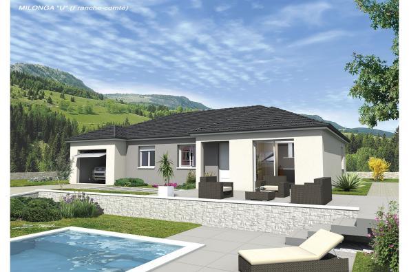 Maison MILONGA EN U - VERSION FRANCHE-COMTE - Valencogne (38730)