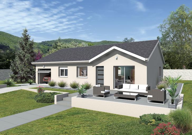 Plan de maison - MACARENA - VERSION FRANCHE-COMTE