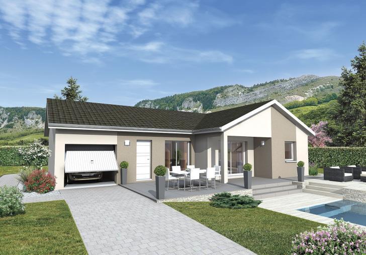 Plan de maison - MALOYA - VERSION FRANCHE-COMTE