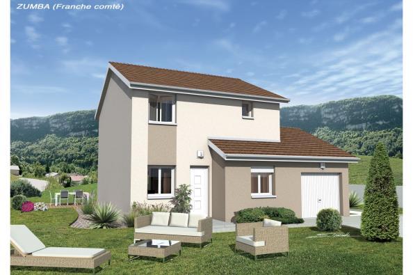 Maison ZUMBA - VERSION FRANCHE-COMTE - Cussey-sur-l'Ognon (25870)