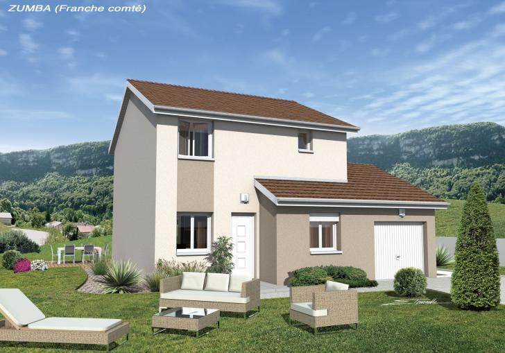 Plan de maison - ZUMBA - VERSION FRANCHE-COMTE