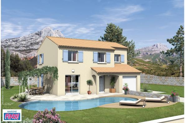 Maison SALSA - VERSION PACA - La Capelle-et-Masmolène (30700)