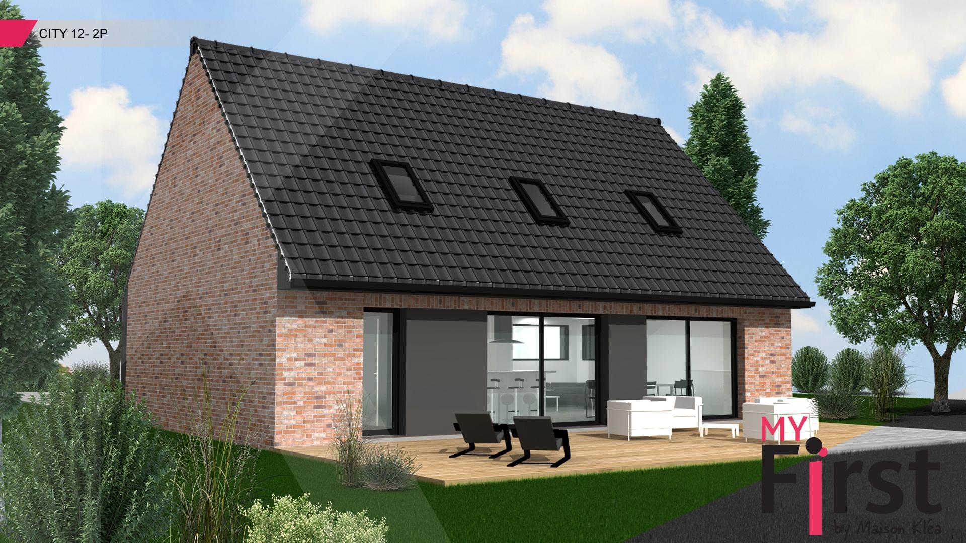 Terrain et maison à construire Acq 119m²