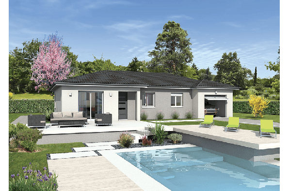 Maison MILONGA EN U - Cruzilles-lès-Mépillat (01290)