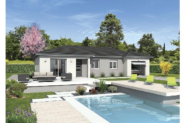 Maison MILONGA EN U - Saint-Jean-la-Bussière (69550)